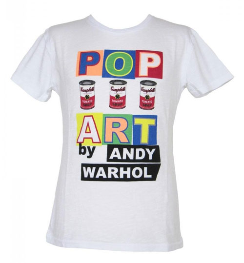 Andy Warhol by Pepe Jeans London T-Shirt Pop