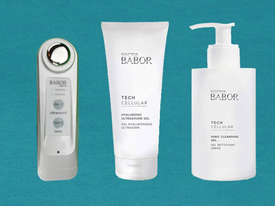 Babor Gesichtspflege Set - Doctor Babor Tech Cellular Ultrasonic Skin Activator