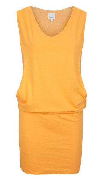 Gelbes Damen Kleid