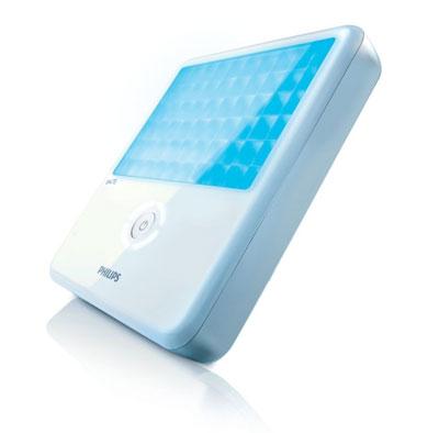 Blaues Licht für ultraschöne Haut