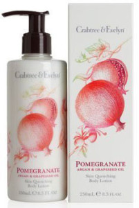 Crabtree & Evelyn Pomegranate Argan Grapeseed Bodylotion