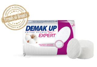 Effizientes Abschminken mit nur einer Handbewegung – Demak'Up Expert Reinigungstücher