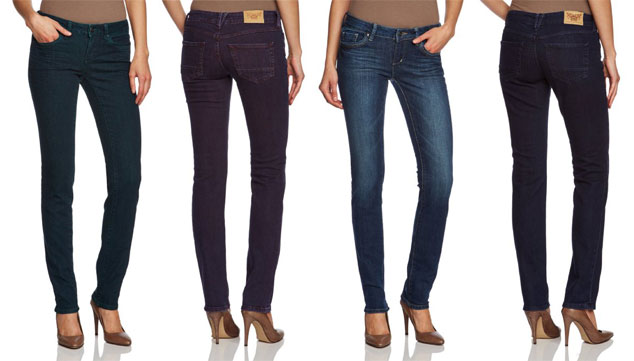 ESPRIT Damen Röhren Jeans