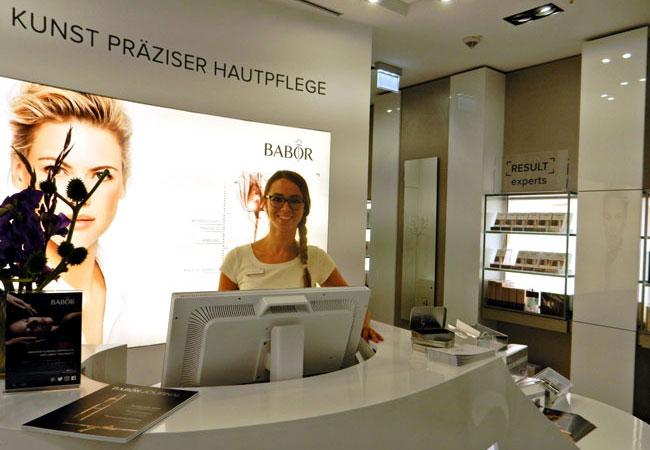Hamburg BABOR Store-Leitung