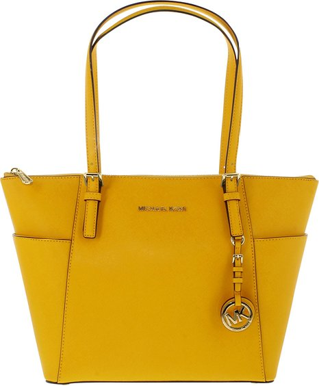 Handtasche von Michael Kors Jet Set Top Zip East West Tote Sun