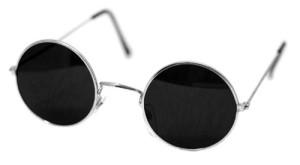 John Lennon runde Sonnenbrille