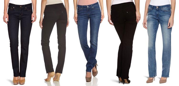 Levi's Damen Jeans Straight Fit