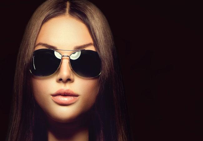Modische Brillentrends: Runde Sonnenbrille