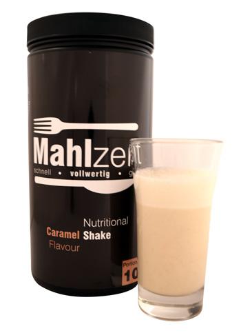 Mahlzeit - Caramel mit Shake